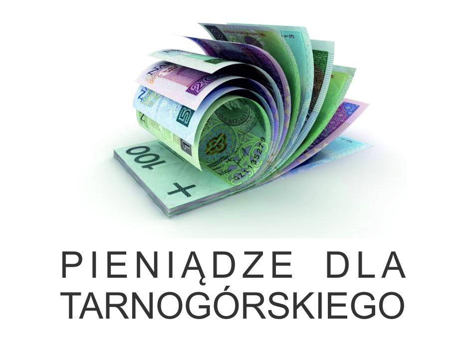 Baner kierujący do strony Pieniądze dla Tarnogórkiego