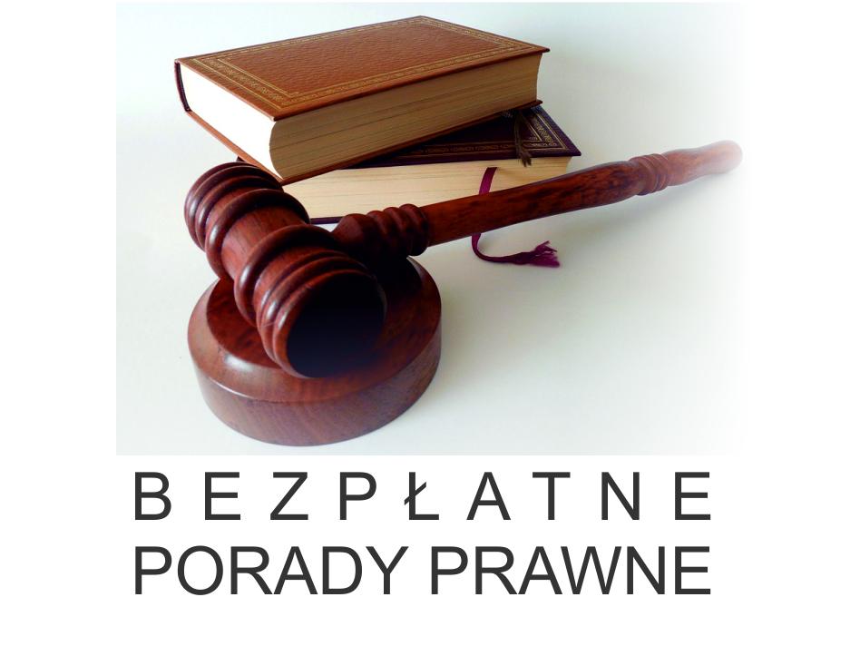 Baner kierujący do strony Bezpłatne Porady Prawne