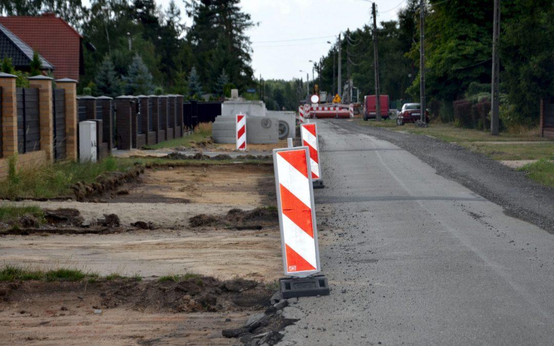 Przebudowa drogi w Ossach