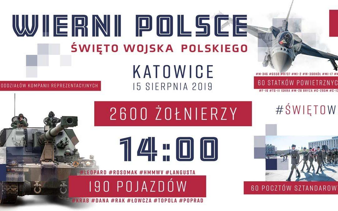 Defilada Wierni Polsce – Święto Wojska Polskiego