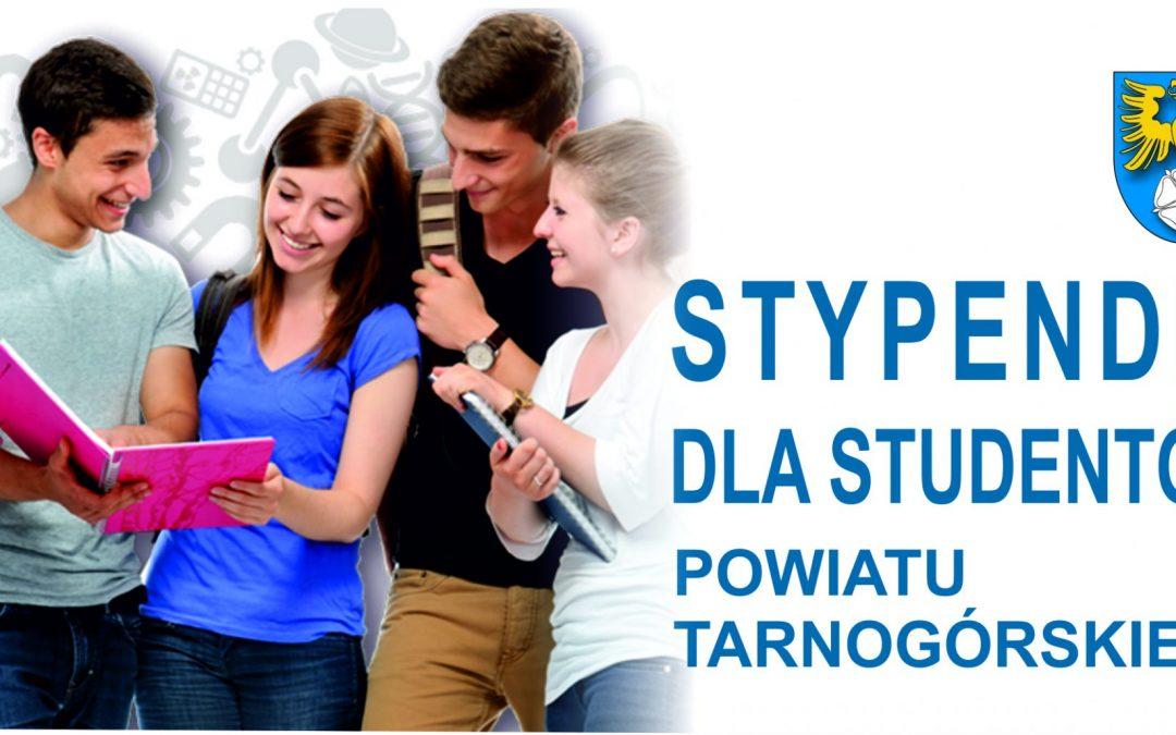 Powiatowe stypendia dla studentów (wnioski do pobrania)