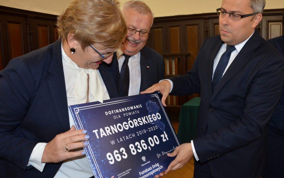 Blisko 2,5 mln zł dofinansowania z Funduszu Dróg Samorządowych