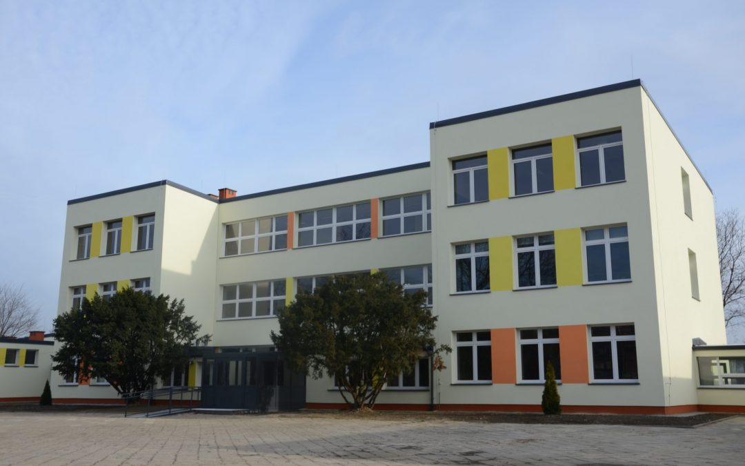 Wyremontowane budynki Specjalnego Ośrodka Szkolno – Wychowawczego