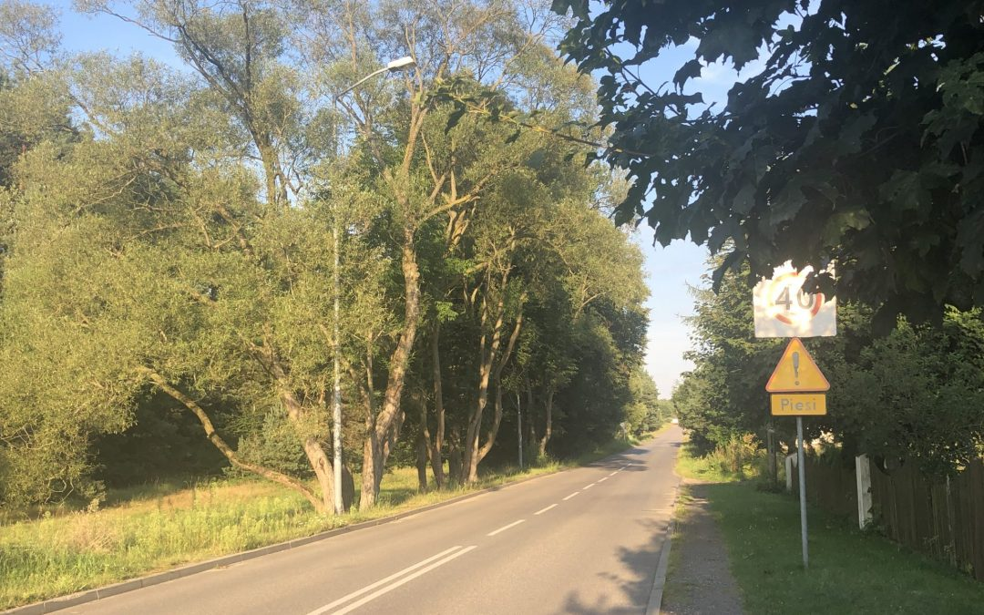 Plan przebudowy ulicy Ofiar Katynia w Kaletach