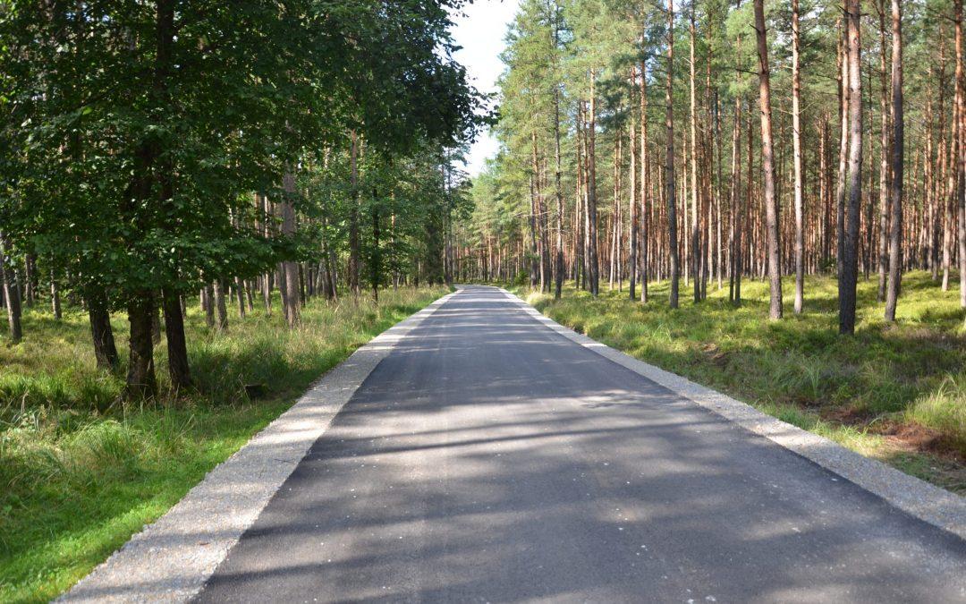 Zakończył się remont drogi pomiędzy Boruszowicami a Mikołeską
