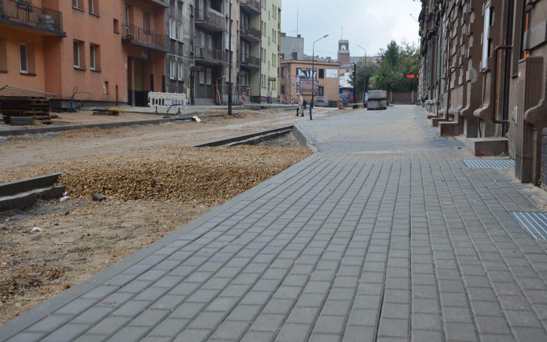 Remont ulicy Powstańców Śląskich. Raport z placu budowy