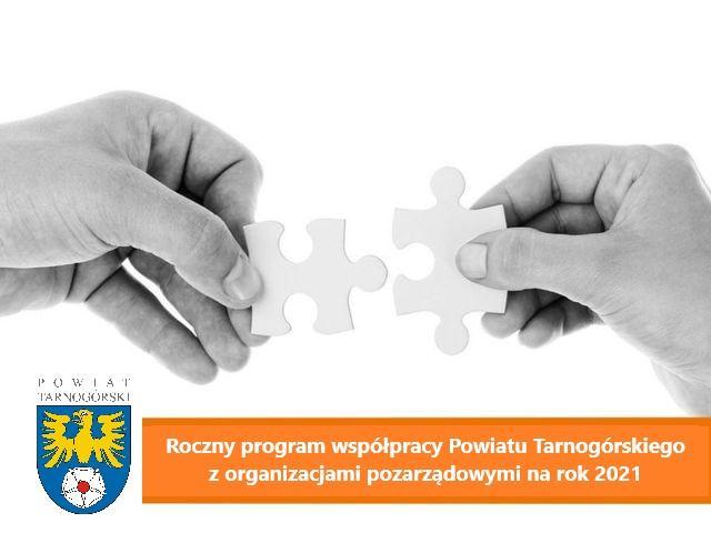 Roczny program współpracy Powiatu Tarnogórskiego z organizacjami pozarządowymi na 2021 rok przyjęty przez Radę Powiatu Tarnogórskiego