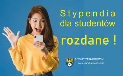 Zarząd Powiatu wyróżnił najlepszych studentów