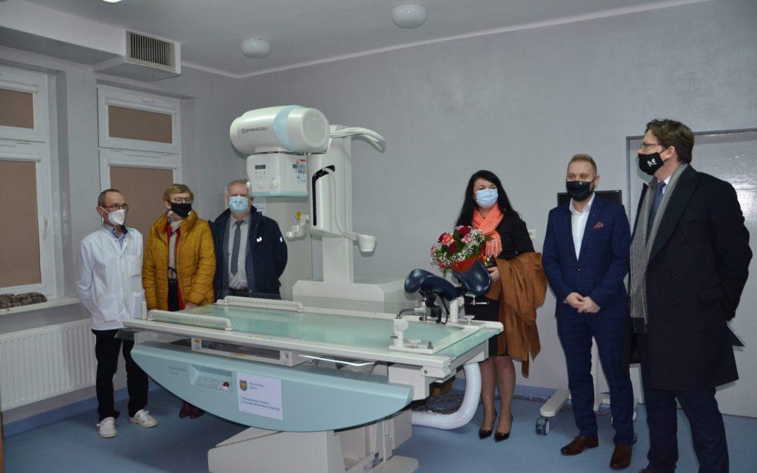 """Aparat RTG typu """"telekomando"""" zakupiony w ramach dotacji od Województwa Śląskiego"""