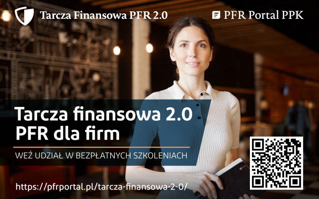 Tarcza Finansowa 2.0 PFR dla Firm – bezpłatne szkolenia online