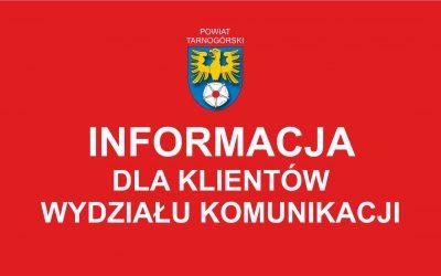 Wydział Komunikacji wznawia wydawanie dokumentów