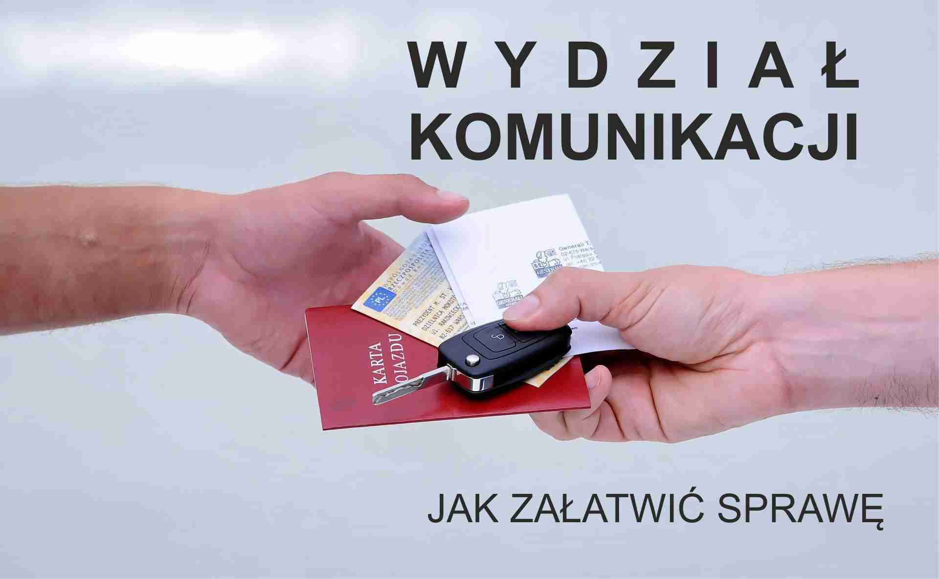 awatar rejestracja pojazdu