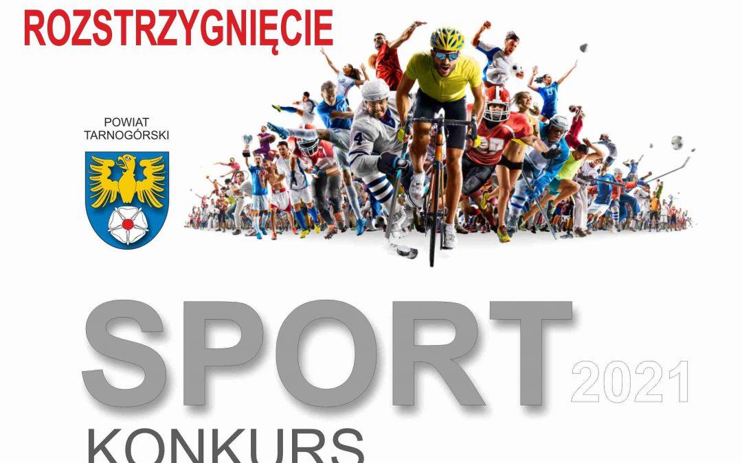 Rozstrzygnięto Konkurs  SPORT 2021
