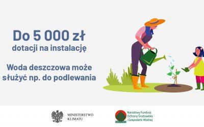 """""""Moja Woda"""" 2.0 – weź 5000 zł i oszczędzaj wodę"""