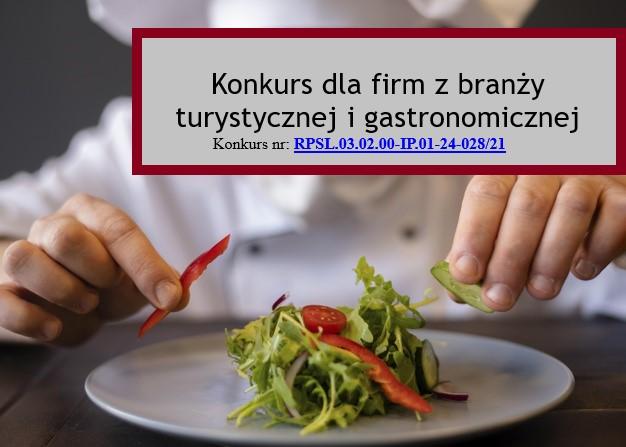Konkurs dla firm z branży turystycznej i gastronomicznej