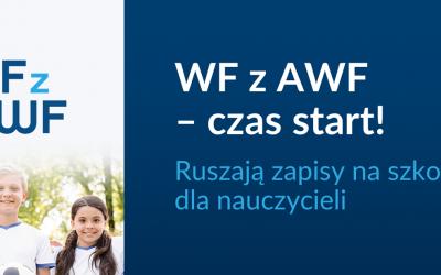 WF z AWF –  zapisy na szkolenia dla nauczycieli