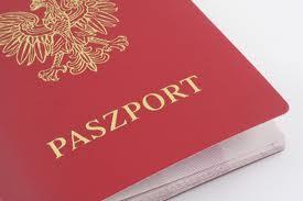 na zdjęciu fragment paszportu