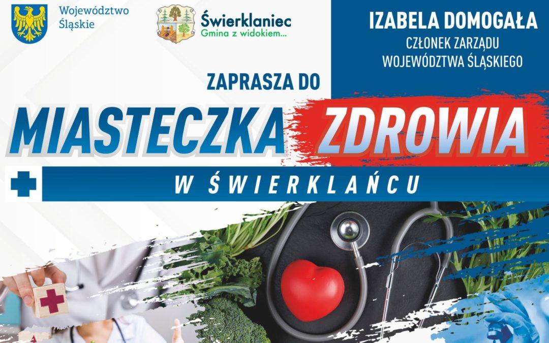"""Park w Świerklańcu i """"Plenerowe Miasteczko Zdrowia"""""""