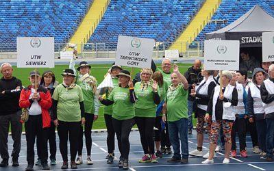 Sportowy sukces tarnogórskich seniorów- słuchaczy tarnogórskiego UTW