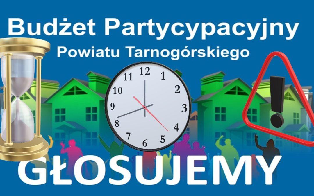 """Uwaga! Głosowanie na projekty """"Budżetu Partycypacyjnego"""" – ostatnie godziny do końca"""