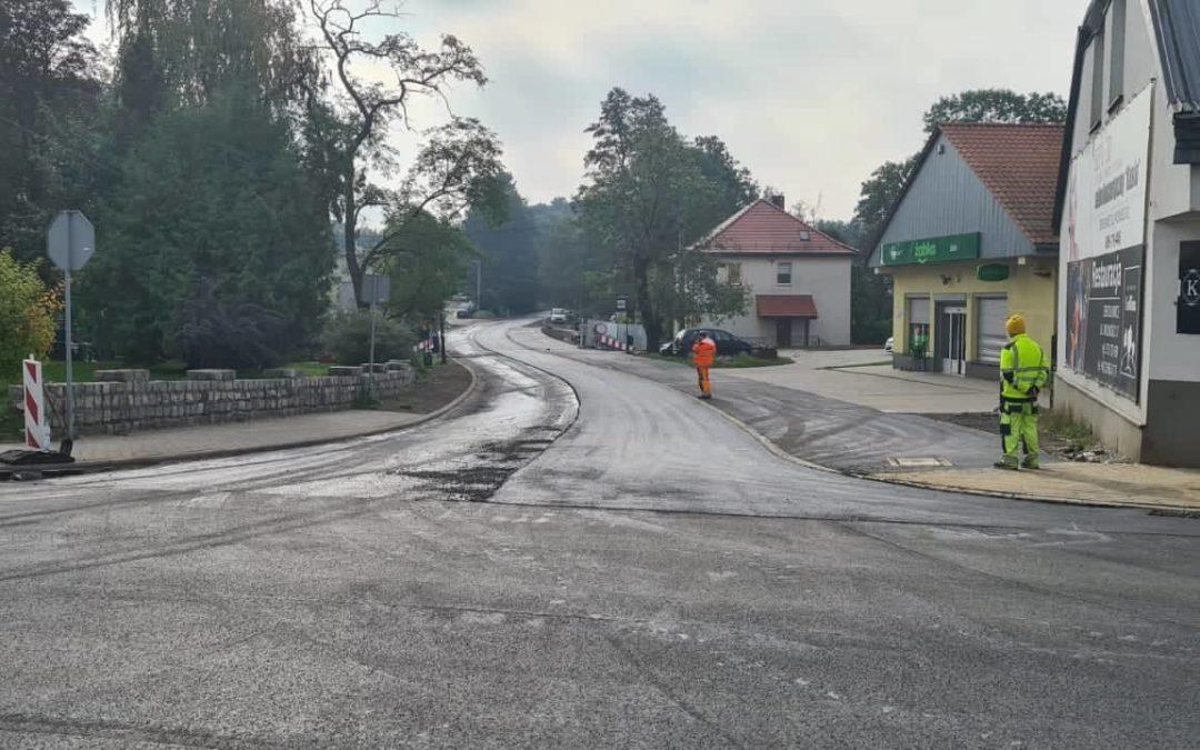 Dobiega końca budowa mostu na rzece Drama w Zbrosławicach.