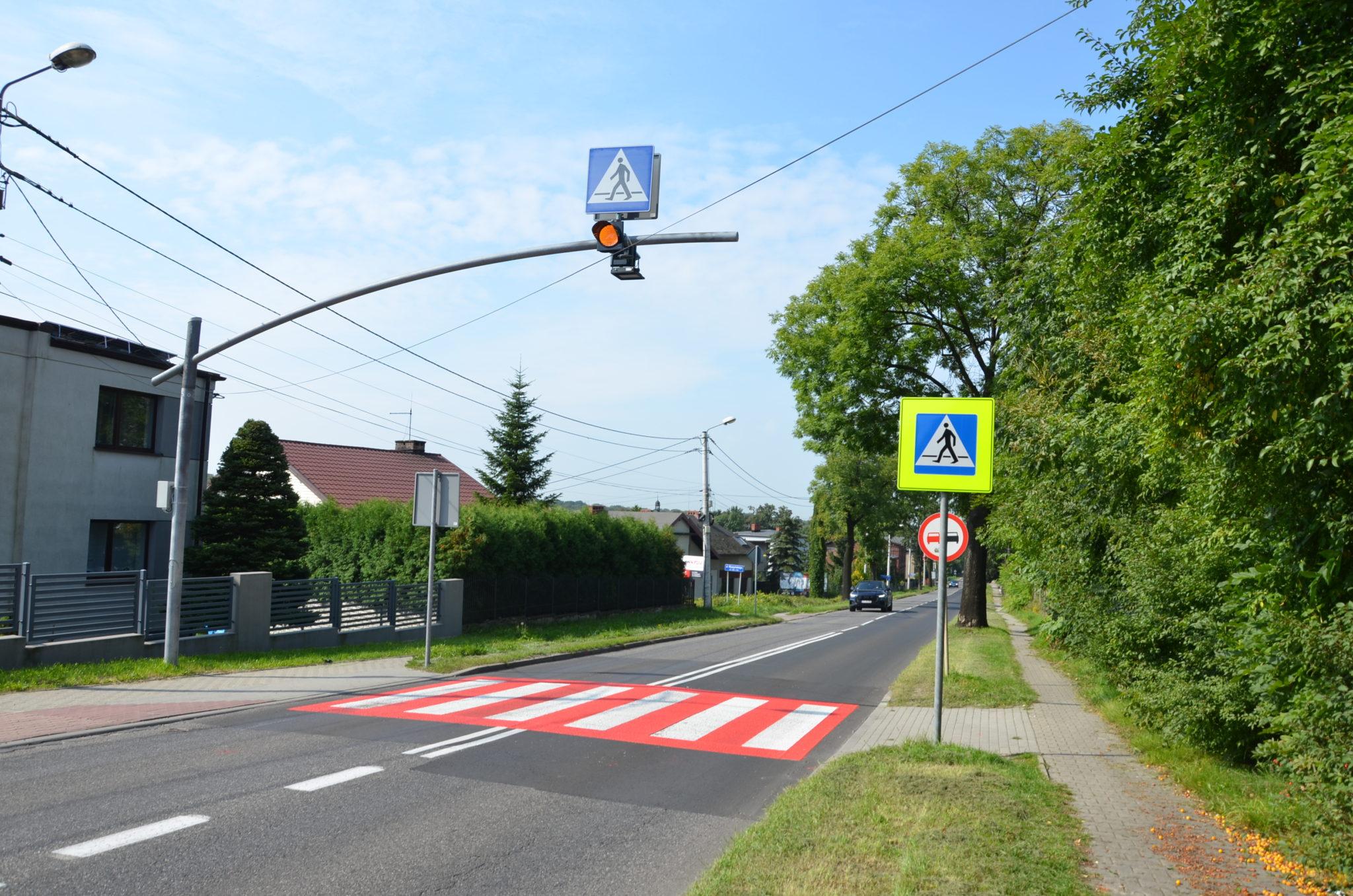 przejście dla pieszych ulica Wyszyńskiego