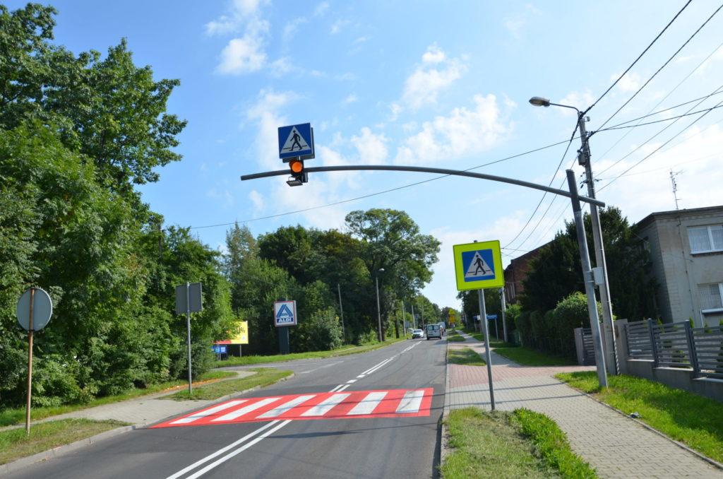 ulica Wyszyńskiego przejście dla pieszych