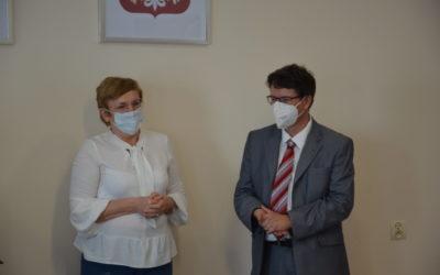 Delegacja z Niemiec z wizytą w starostwie