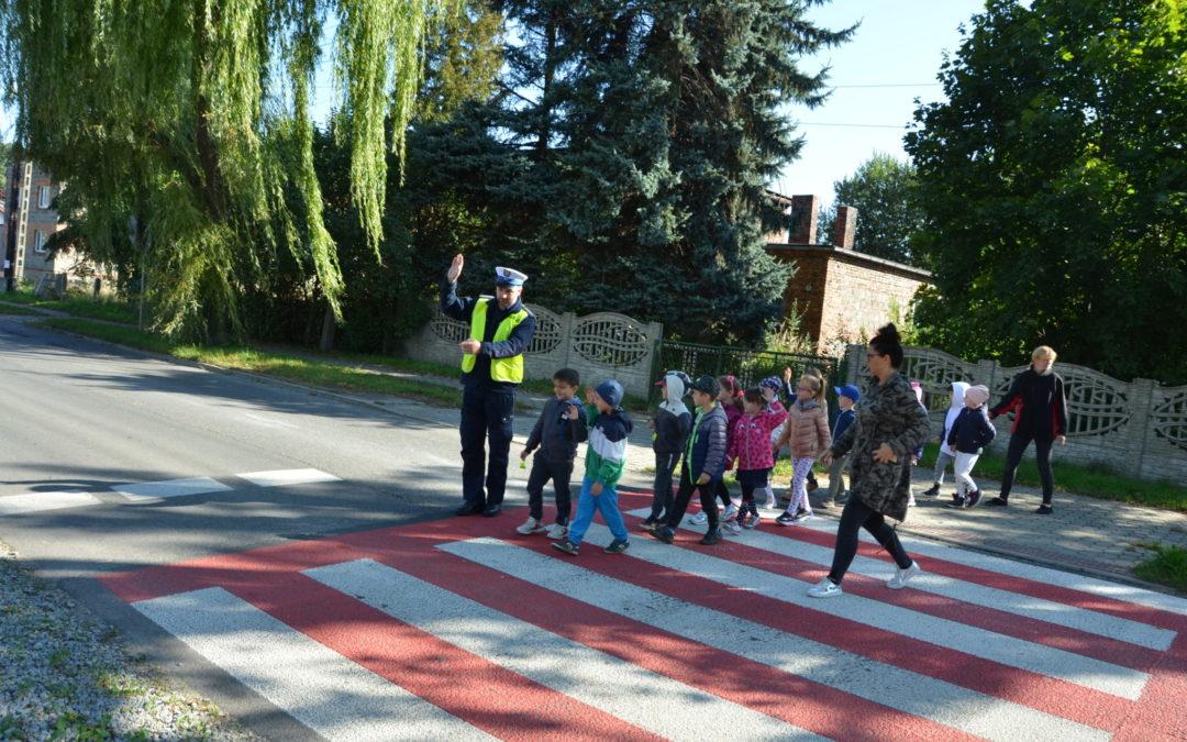 Przedszkolaki z Miedar uczestniczyły w europejskich działaniach ROADPOL Safety Days