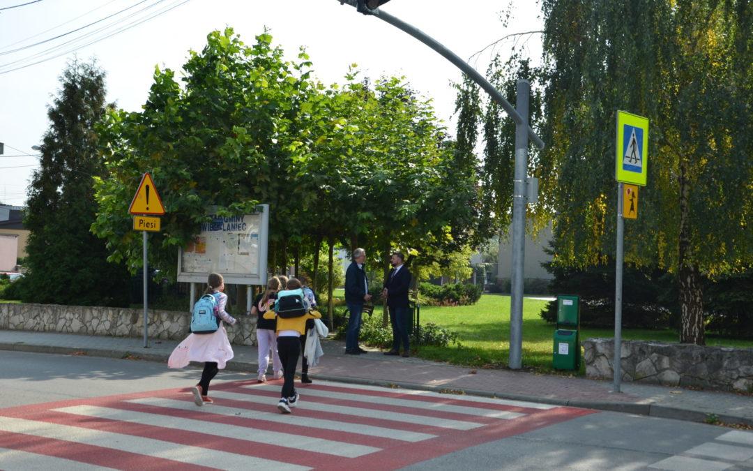 Modernizacja wybranych przejść dla pieszych na drogach powiatu tarnogórskiego na 2021rok zakończona!