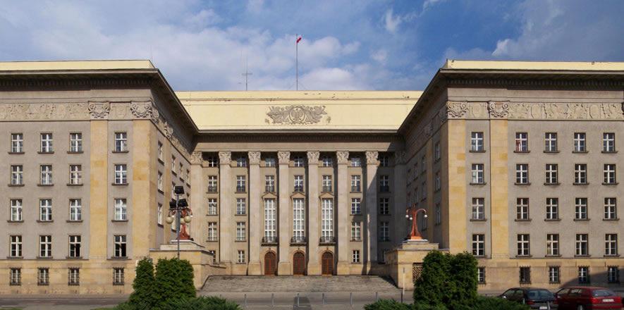 budynek Śląski Urzad Katowice