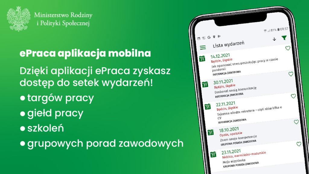 plakat do aplikacji e-parcy